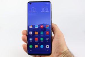 Xiaomi Mi 10 Hand Display