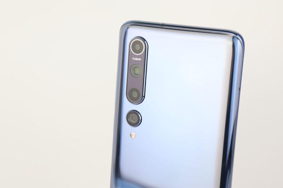 Xiaomi Mi 10 Quad Kamera