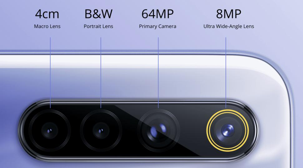 Realme 6 kamera
