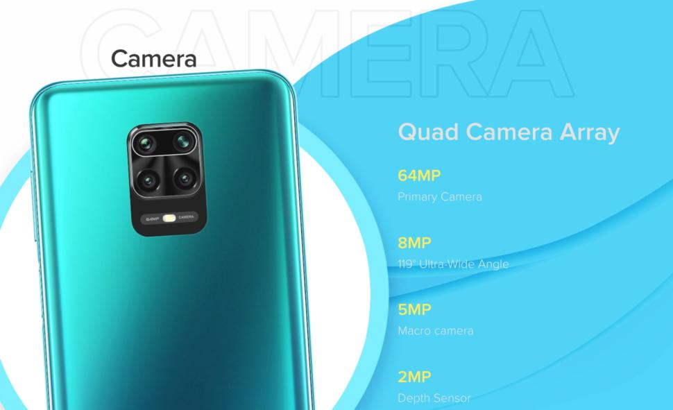 Redmi Note 9 Pro Max kamera