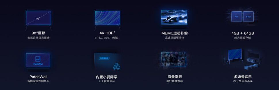 Redmi TV MAX 98 Zoll 10