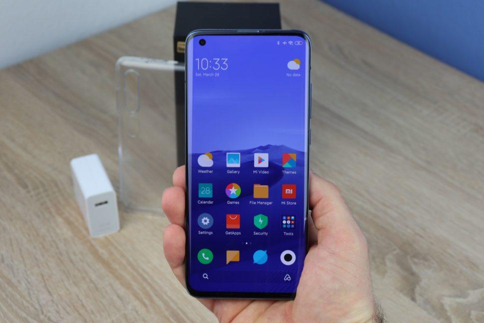 Xiaomi Mi 10 pro Display Test