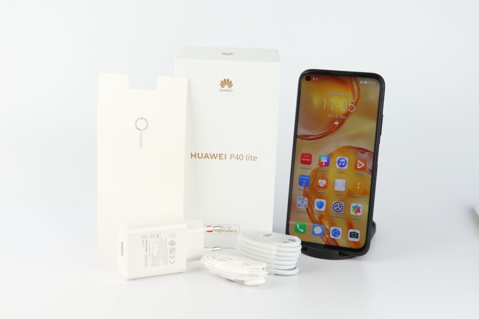 Huawei P40 Lite Lieferumfang