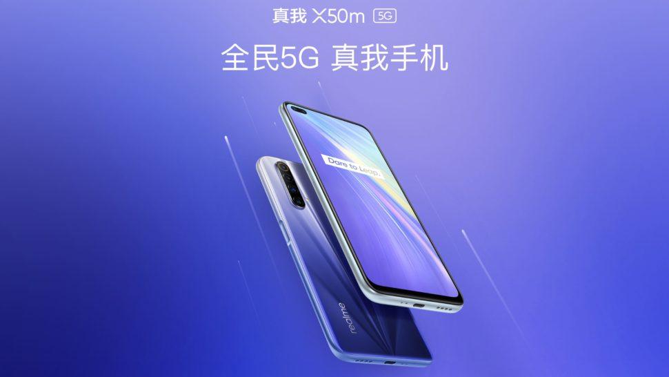 Realme X50m 5G vorgestellt 2