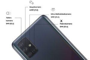 Samsung Galaxy A71 Testbericht Kamera Sensoren 1