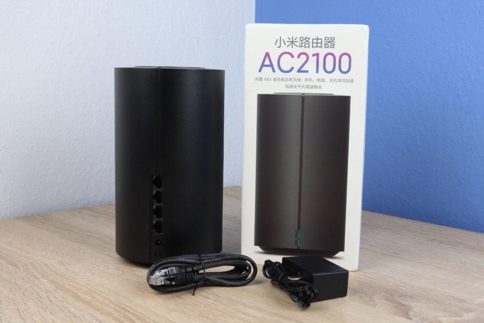 Xiaomi AC2100 Router Testbericht 1