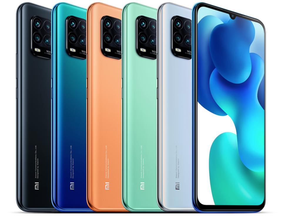 Xiaomi Mi 10 Youth Farben