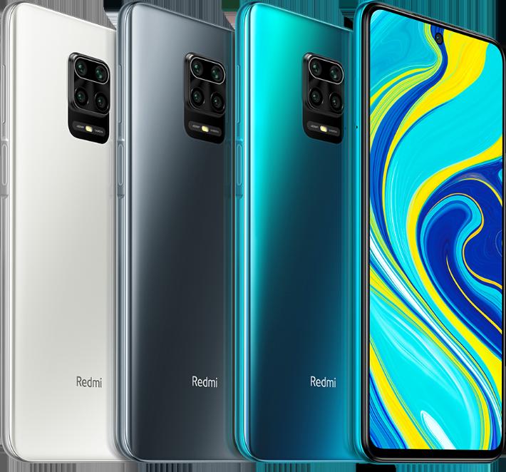 Redmi Note 9S Farben