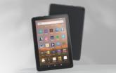 Amazon Fire HD8 Tablet display