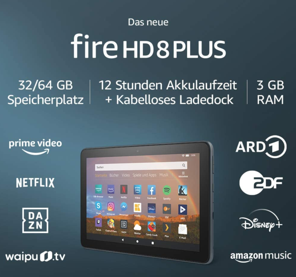 Amazon Fire HD8 Tablet features