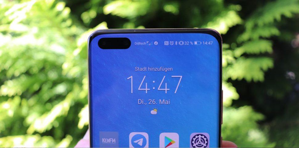 Huawei p40 pro notch