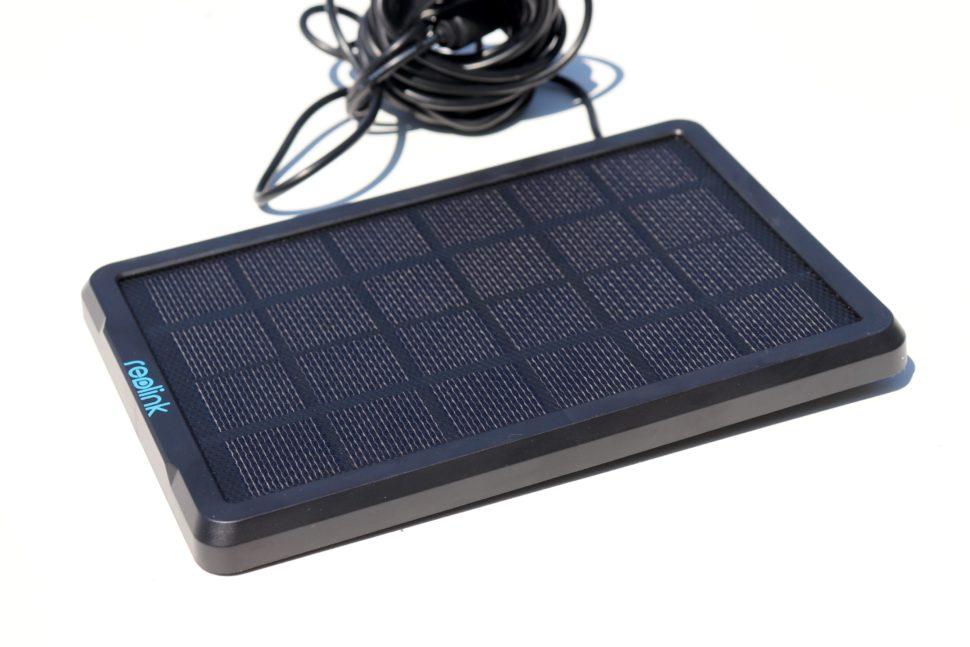 Reolink Argus PT test solar panel 1