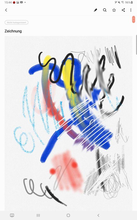 Samsung Galaxy Tab S6 Bilder Stylus Stift 1