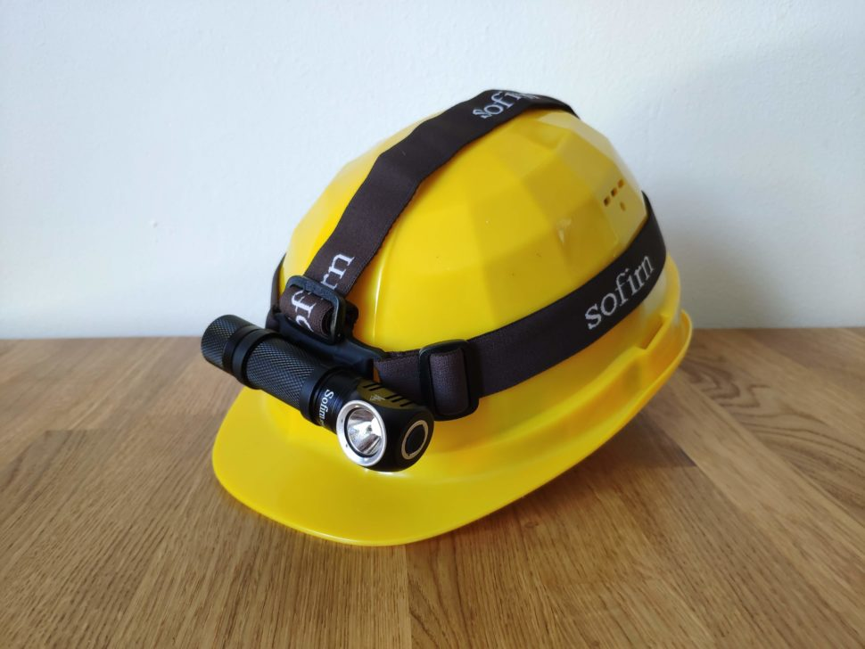 Sofirn SP40 Stirnband
