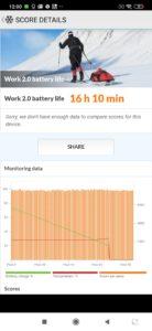 Xiaomi Mi Note 10 Lite pcmark battery