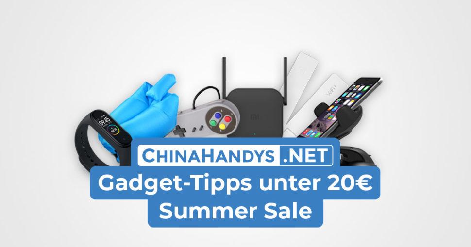 20€ Gadget Banner Summer Sale