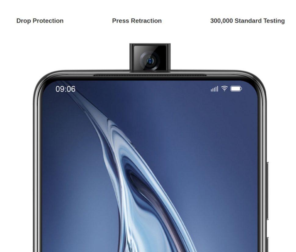 Elephone PX Pro Popupcamera
