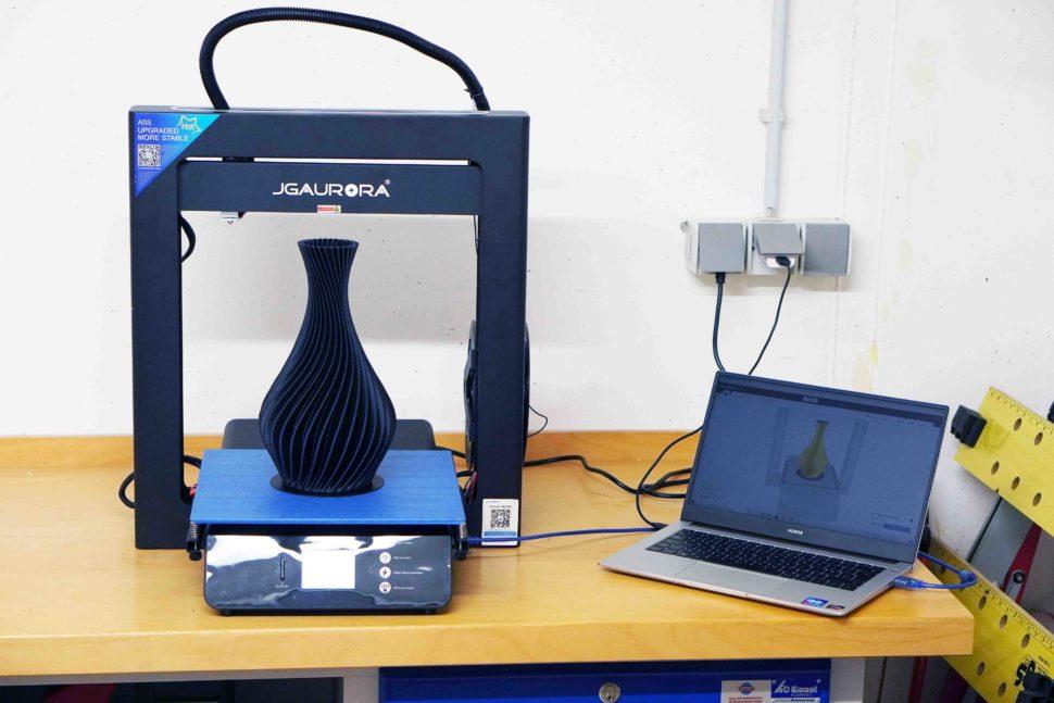 JGAurora A5S 3D Drucker Betrieb