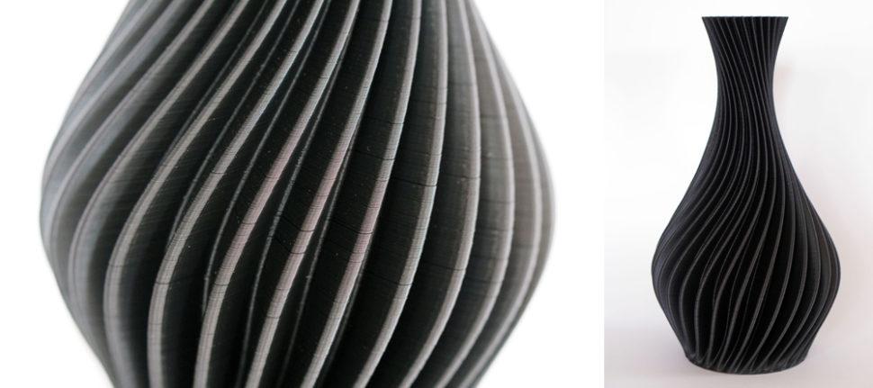 JGAurora A5S 3D Drucker Ergebnis Vase Kombiniert