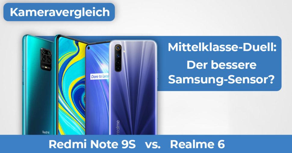 Realme 6 vs Redmi Note 9S Kameravergleich Banner