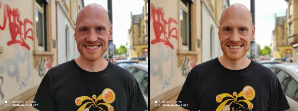 lossless redmi note9pro vs 9s portrait
