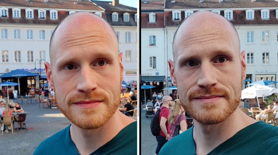 lossless samsung m31 vs redminote 9pro selfie 6