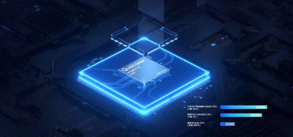 Xiaomi AX3600 Testbericht Prozessor