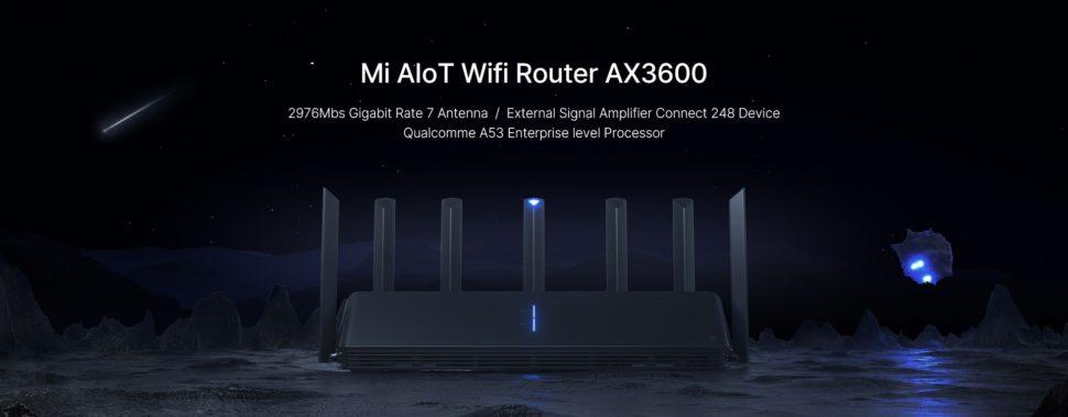 Xiaomi AX3600 Testbericht Router