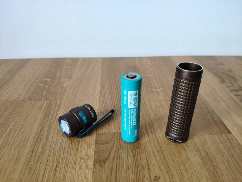 Olight S2R Baton II Teile