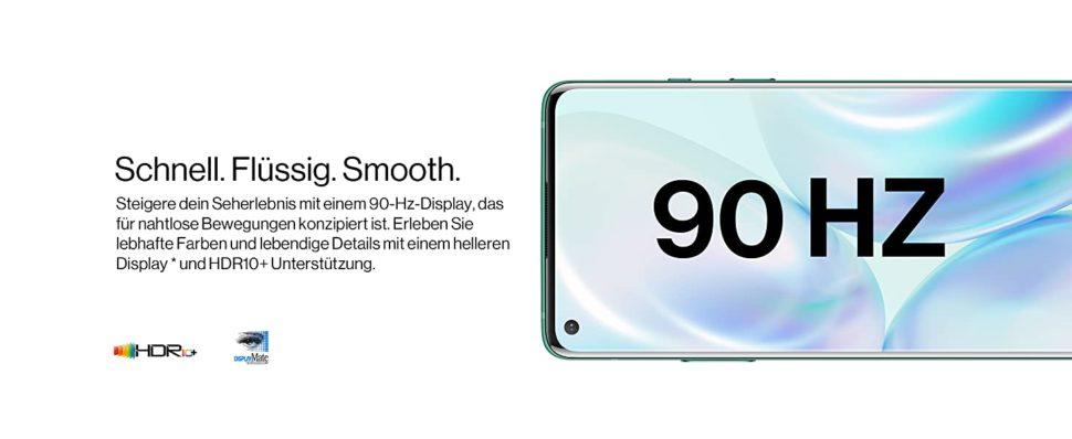 OnePlus 8 Testbericht 90HZ