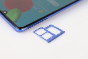 Samsung Galaxy A41 Sim Netz Empfang