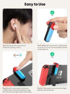 UGreen Nintendo Switch Bluetooth Adapter Testbericht 3