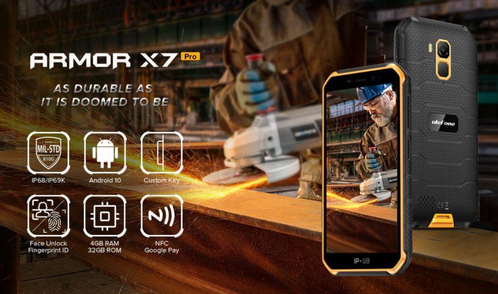 Ulefone Armor X7 Übersicht