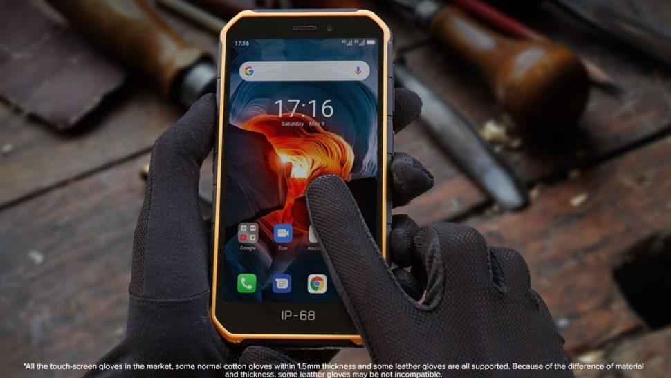 Ulefone Armor X7 Glove Mode