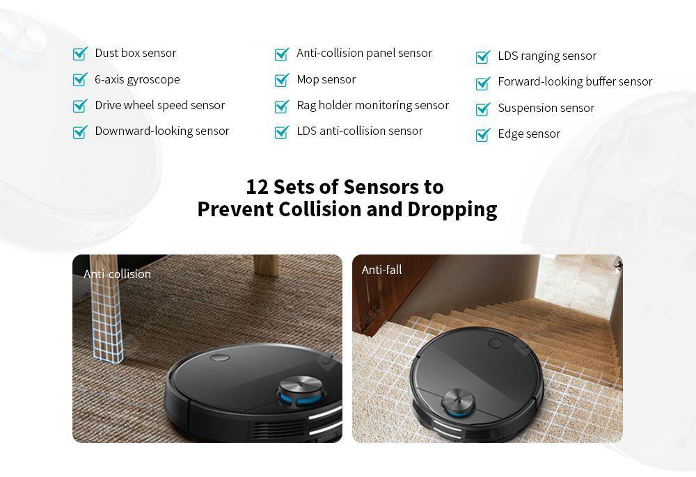 Viomi V3 Sensors