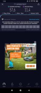 Xiami Black Shark 3 Testbericht Screenshots WiFi Dual