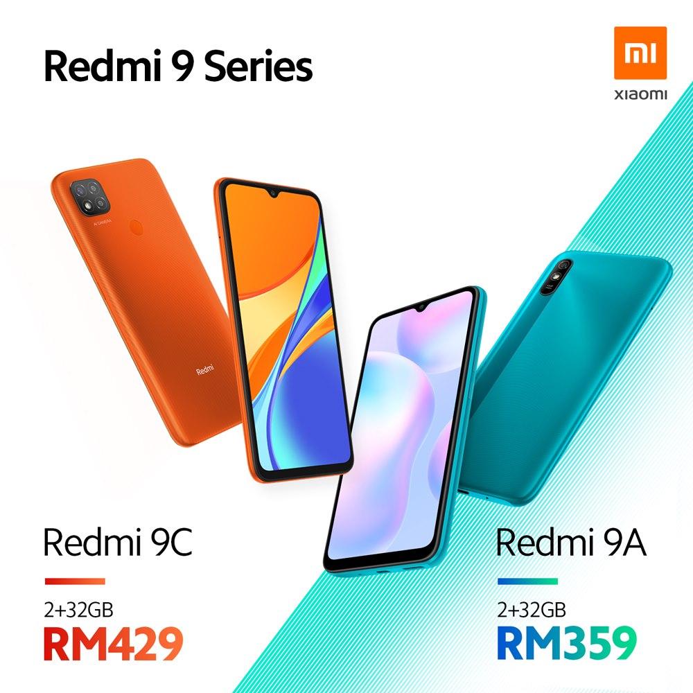 Redmi 9C und Redmi 9A