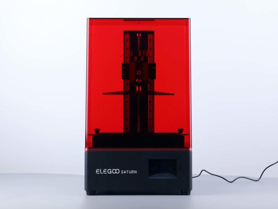 Elegoo Saturn 3D Drucker Front