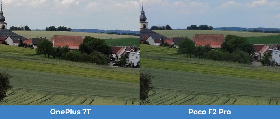lossless Zoom Tag OnePlus 7T Poco F2 Pro Kameravergleich