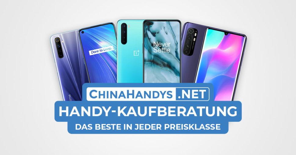 Smartphone Kaufempfehlung Banner August 2020