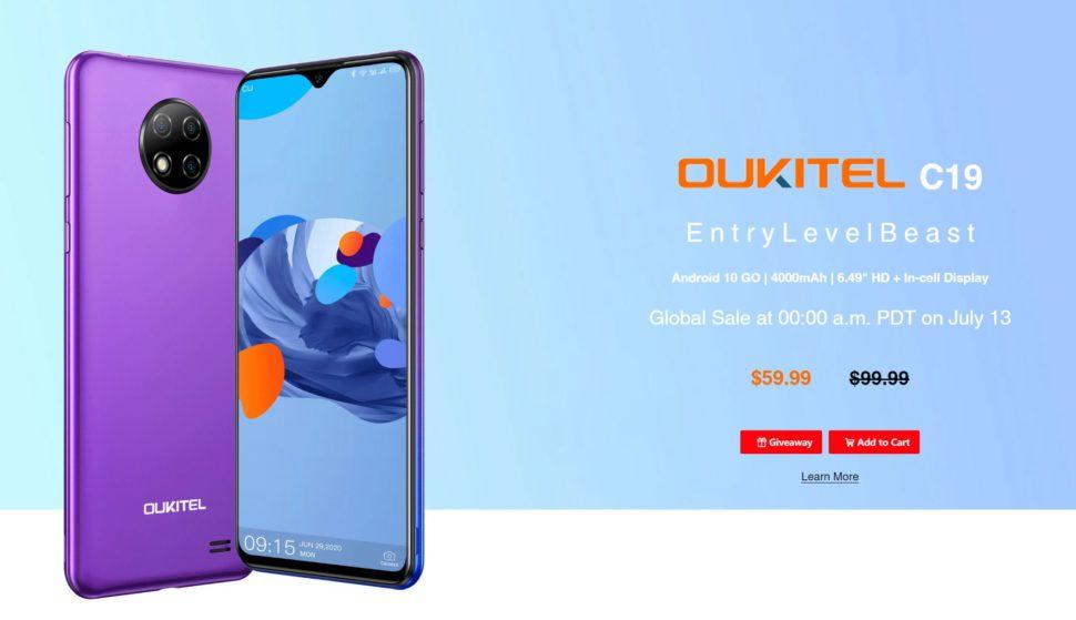 Oukitel C19 Einsteiger Smartphone 2 1