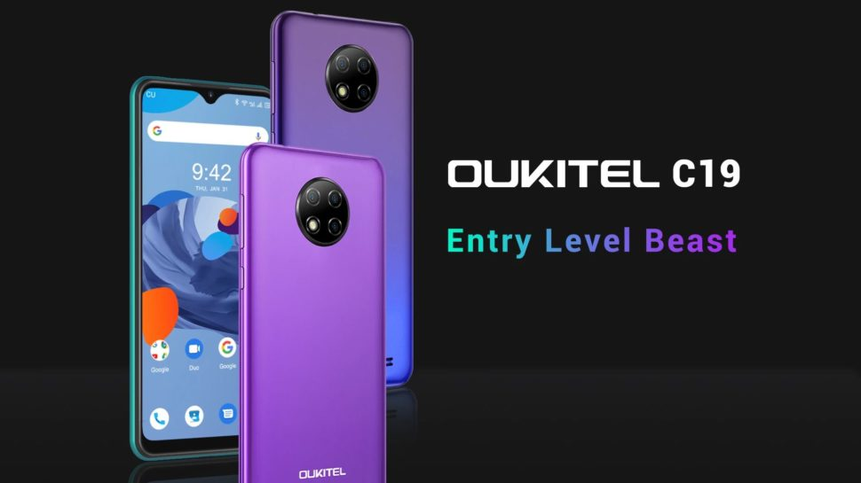 Oukitel C19 Einsteiger Smartphone e1593778694137