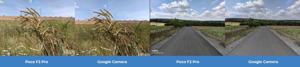 lossless Kamera Vergleich Poco F2 Pro GCam Tag