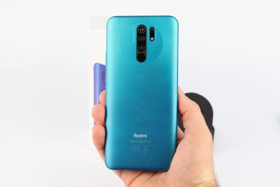 Xiaomi Redmi 9 Hand Vorne Hinten 1