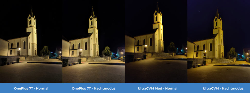 lossless Kamera Vergleich OnePlus 7T UltraCVM Nacht