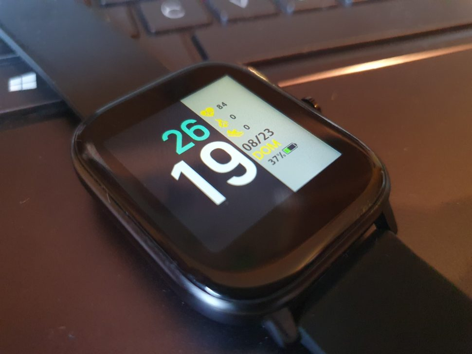 MoreFit Smartwatch Display 2