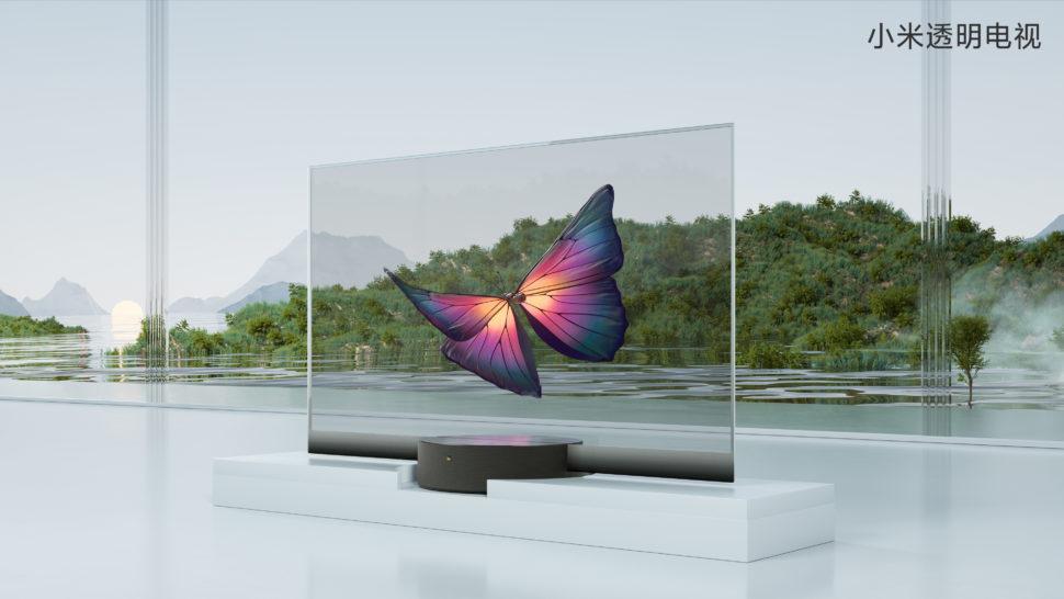 Mi TV LUX OLED Transparent Edition 01