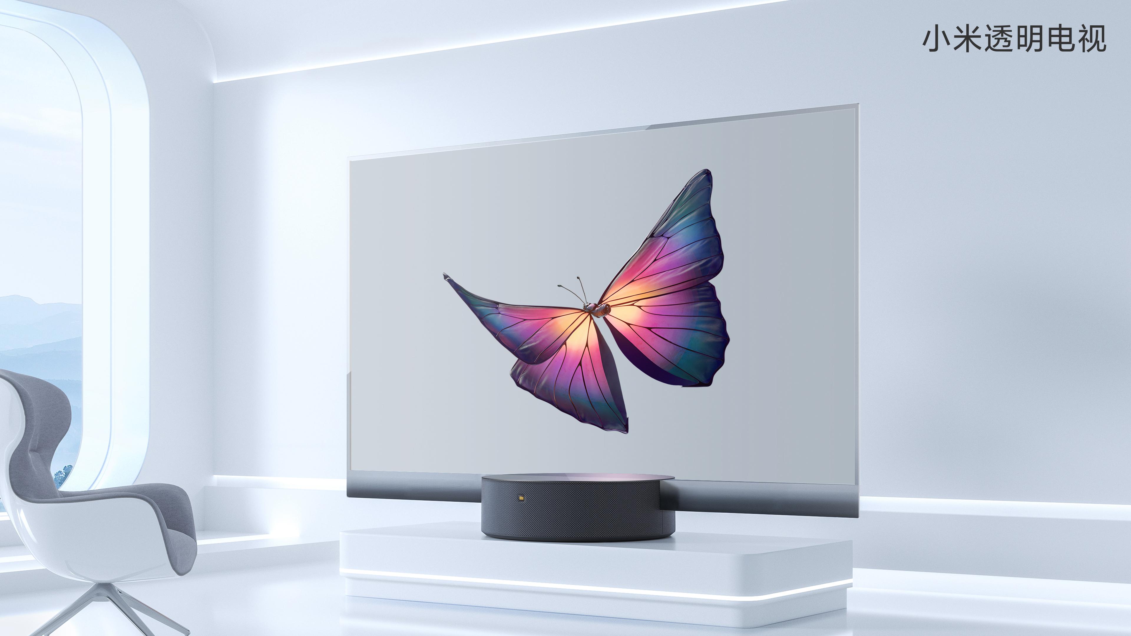 Transparenter Fernseher