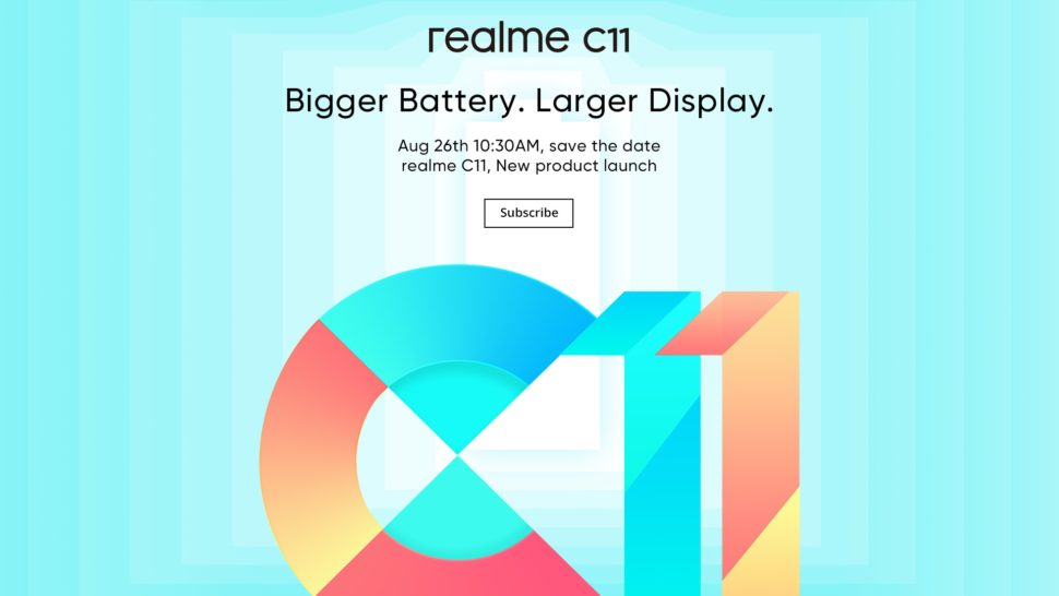 Realme C11 Europa Launch