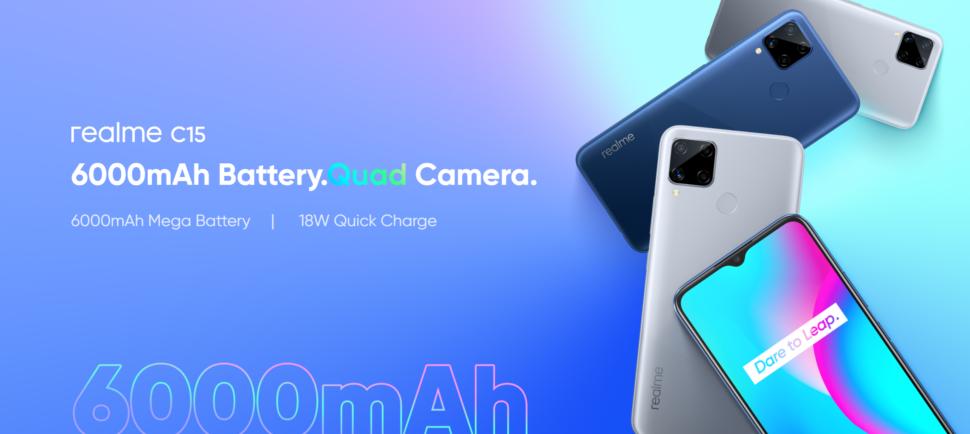 Realme C15 vorgestellt 3